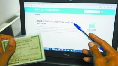Incrições para o Sisu têm início nesta  3ª; consulta já pode ser feita no site