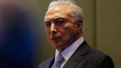 Ex-presidente Temer vira réu  no caso da mala de R$ 500 mil