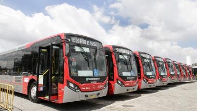 Prefeitura entrega ônibus novos  para a zona leste de São Paulo