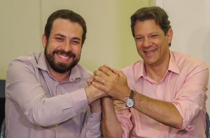 Boulos anuncia que PSOL  apoiará Fernando Haddad
