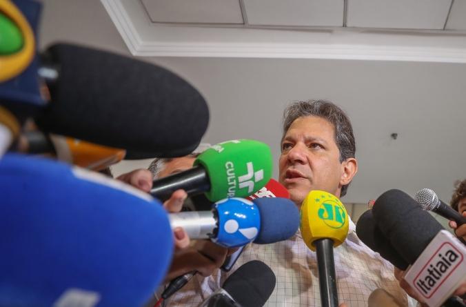Haddad faz aceno para Márcio França e  diz 'não saber' se irá conversar com FHC