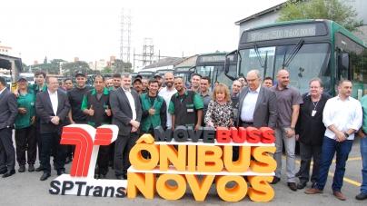São Paulo recebe 2.500 ônibus  novos no período de 22 meses