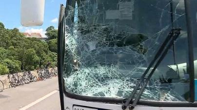 Ônibus atropela 28 ciclistas na  Bandeirantes; casal não resiste