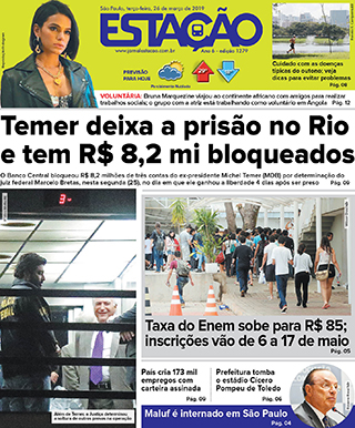 Jornal Estação de 26/03/2019 – Ed. 1279