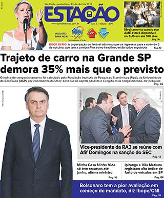 Jornal Estação de 25/04/2019 – Ed. 1300