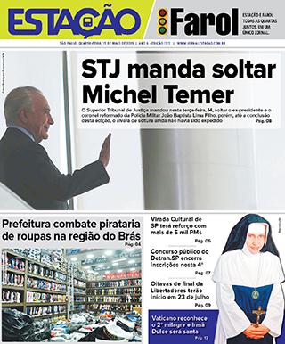 Jornal Estação de 15/05/2019 – Ed. 1313