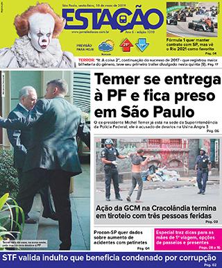 Jornal Estação de 10/05/2019 – Ed. 1310