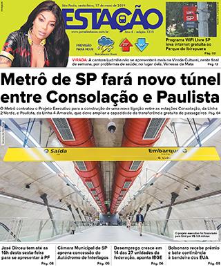 Jornal Estação de 17/05/2019 – Ed. 1315