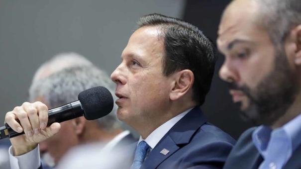 Doria confia em permanência da F-1 em SP e rebate Bolsonaro