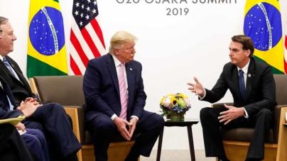 Com Eduardo nos EUA, governo espera filho de Trump como embaixador no Brasil