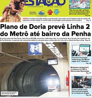 Jornal Estação de 04/06/2019 – Ed. 1327