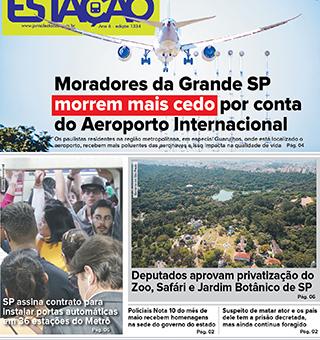 Jornal Estação de 13/06/2019 – Ed. 1334