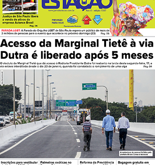 Jornal Estação de 18/06/2019 – Ed. 1337