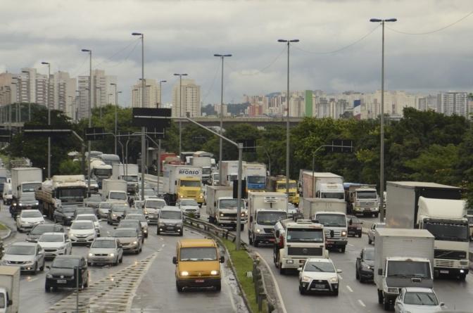 Motoristas de SP reclamam de placas de sinalização encobertas por árvores
