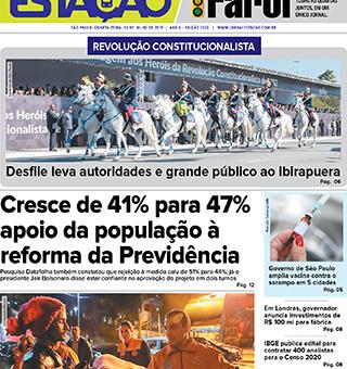 Jornal Estação de 10/07/2019 – Ed. 1350