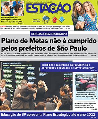 Jornal Estação de 05/07/2019 – Ed. 1349