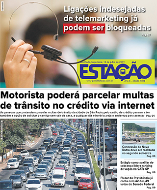 Jornal Estação de 16/07/2019 – Ed. 1354