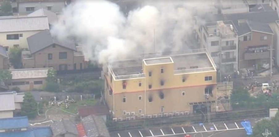Sobe para 33 o número de mortos em incêndio em estúdio de animação do Japão