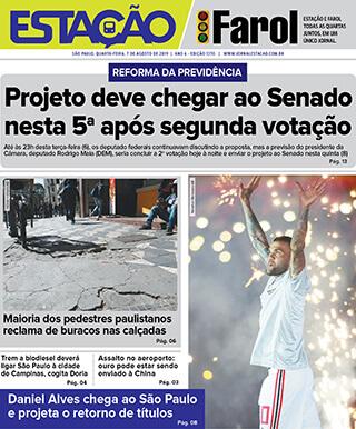 Jornal Estação de 07/08/2019 – Ed. 1370