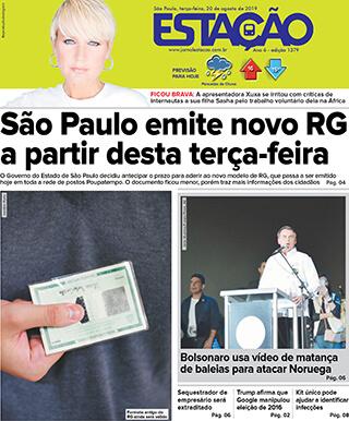 Jornal Estação de 20/08/2019 – Ed. 1379