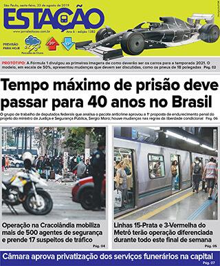 Jornal Estação de 23/08/2019 – Ed. 1382