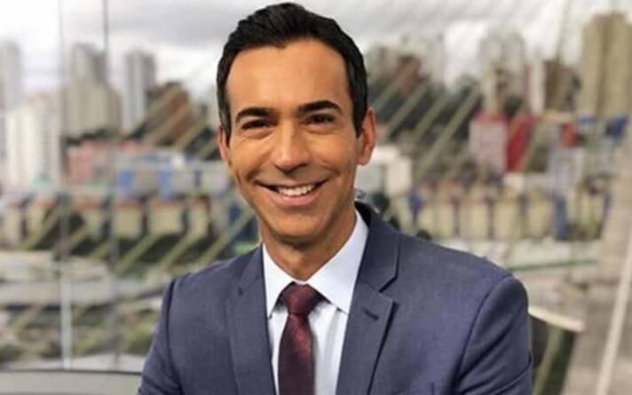 Globo nega saída de Cesar Tralli para a CNN Brasil