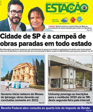 Jornal Estação de 09/09/2019 – Ed. 1393