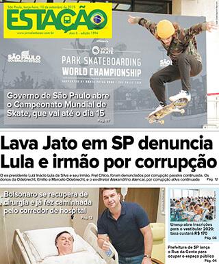 Jornal Estação de 10/09/2019 – Ed. 1394