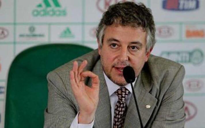 Nobre critica relação do Palmeiras com a Crefisa: 'Patrocinador não é co-gestor'