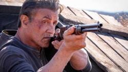 Stallone, no filme de despedida de Rambo
